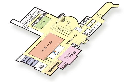2階のフロア図