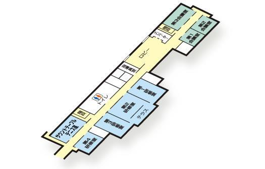 3階のフロア図