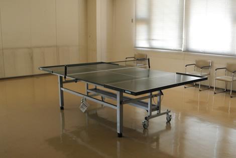 サウンドテーブルテニス室の写真
