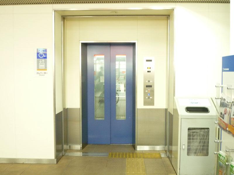 エレベータの画像