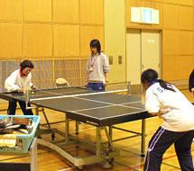 サウンドテーブルテニスの写真